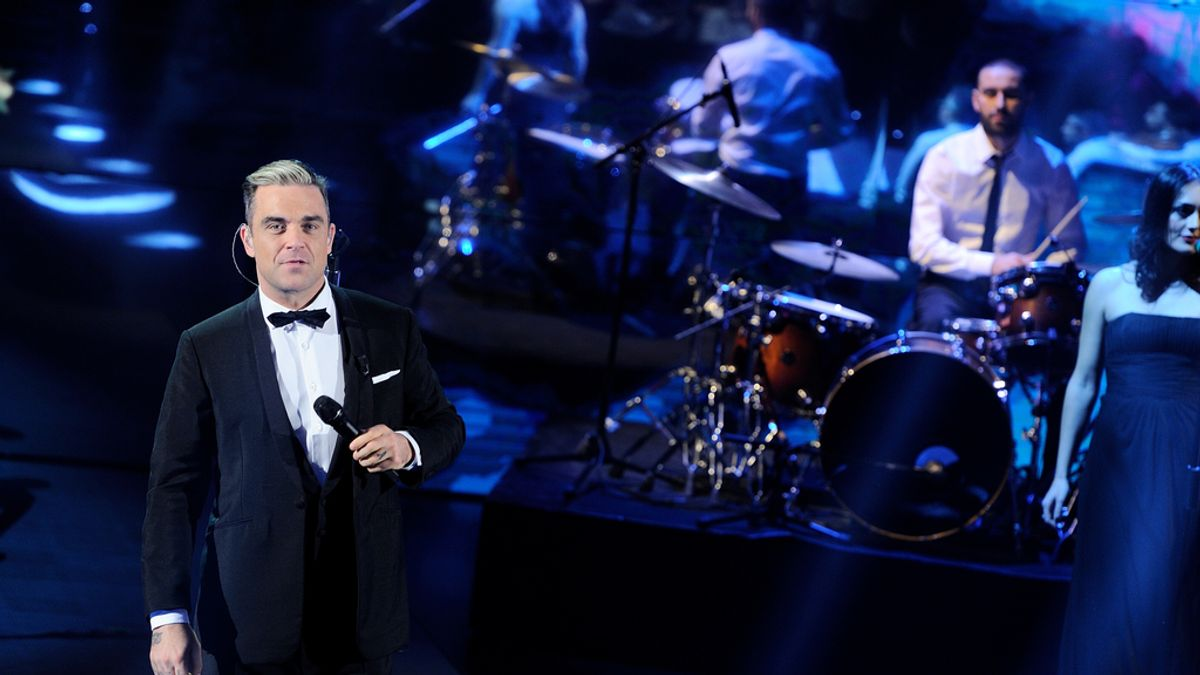 """""""Dream a little dream"""", el nuevo single navideño de Robbie Williams"""