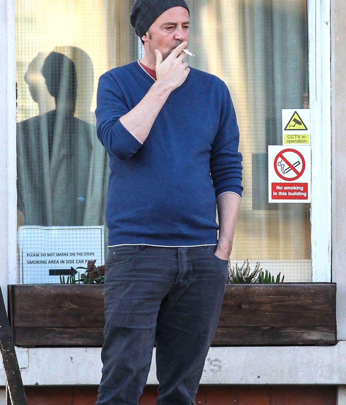 Matthew Perry en Londres