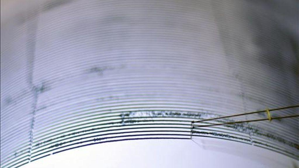 Detalle de un sismógrafo. EFE/Archivo