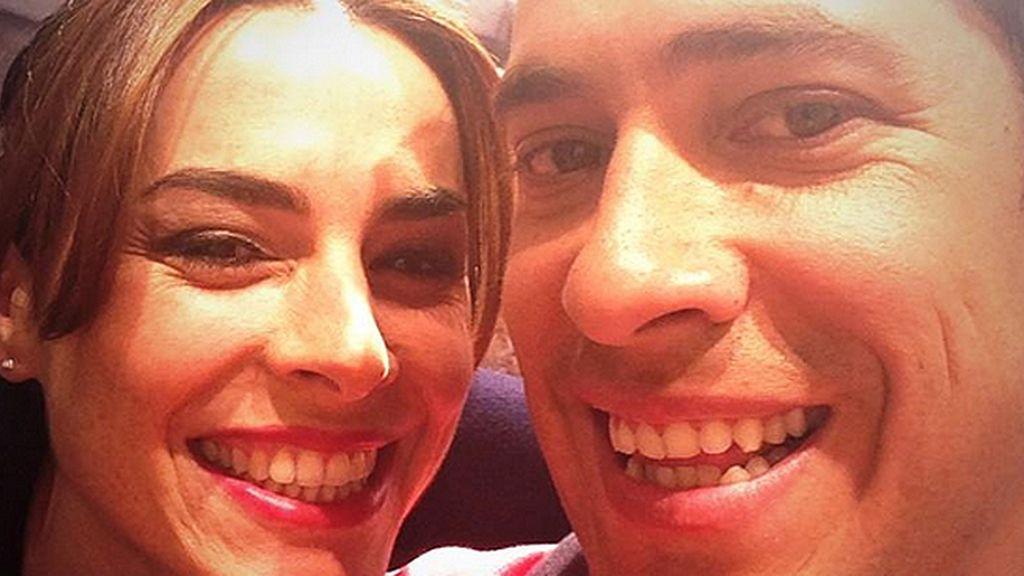 """El Langui, muy feliz con su """"pastelera favorita"""""""