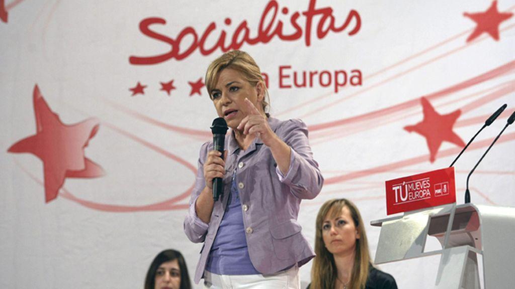 """Valenciano: """"La jefa política del señor Cañete es Angela Merkel"""""""
