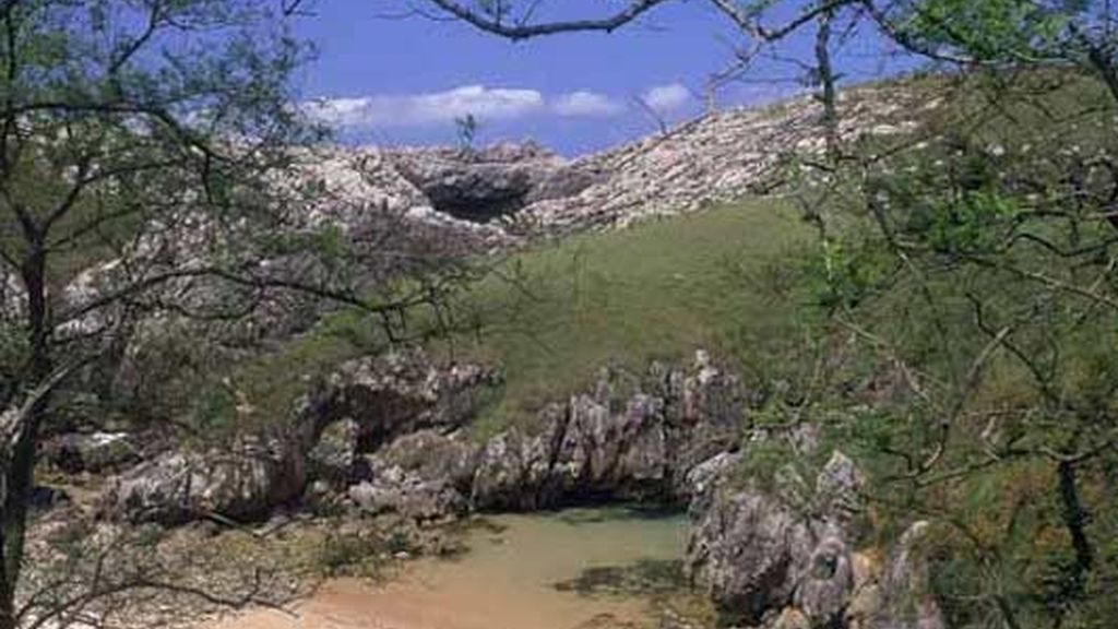 Playa de Cobijero, en Llanes