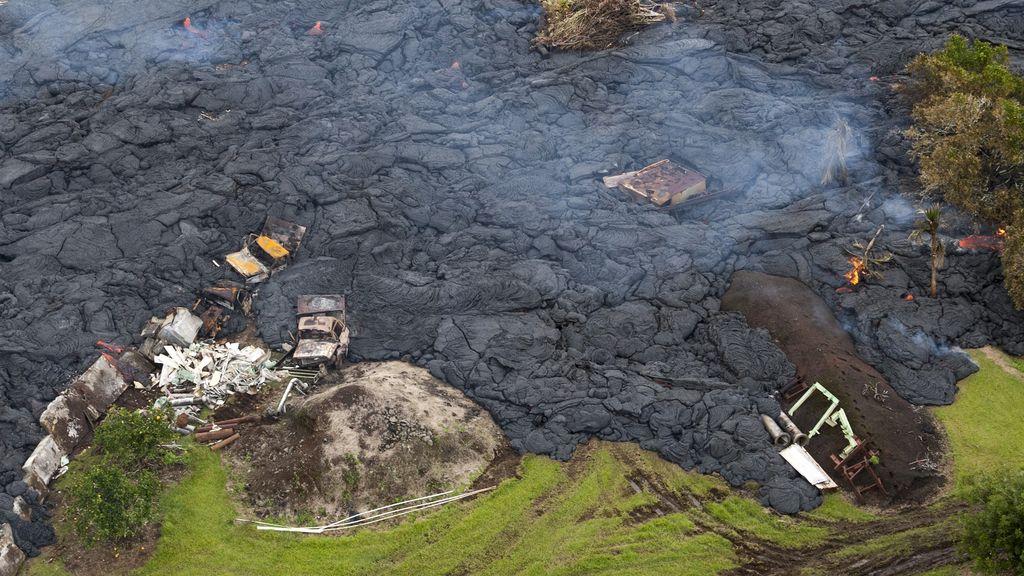 Hawaii amenazado por el volcán Kilauea