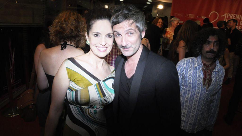 Divinity, de fiesta con los actores españoles
