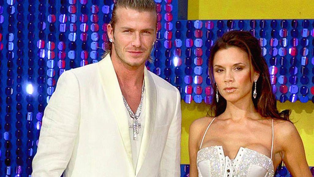 Se han hecho famosos sus 'look' a conjunto, como éste de los premios MTV 2003