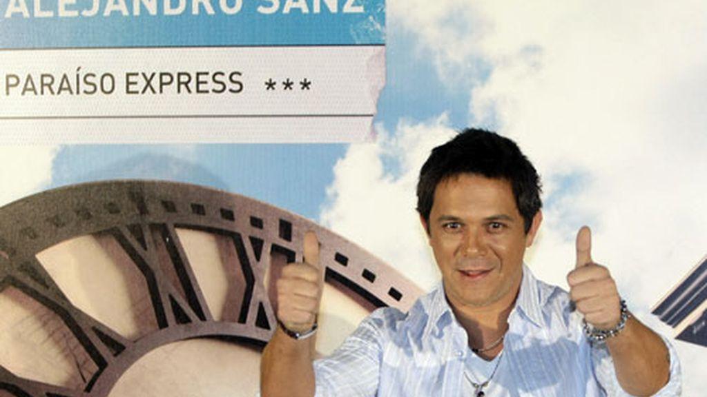 Alejandro Sanz encuentra el paraíso