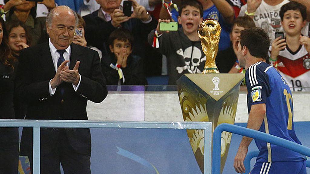 Blatter y Messi