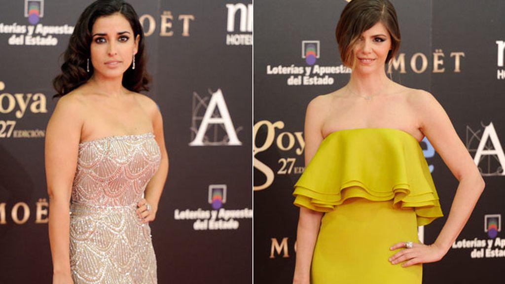 Inma Cuesta y Manuela Velanco, imponentes