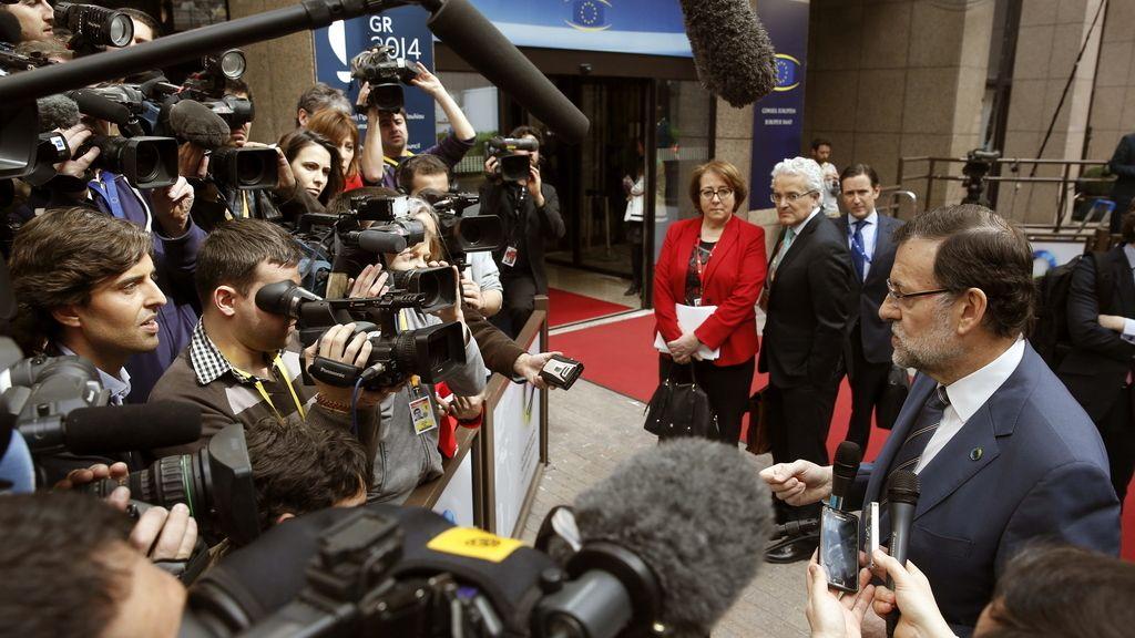 Mariano Rajoy en la cumbre UE-África que se celebra en Bruselas