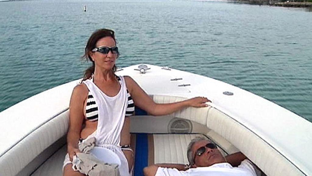 Un relajante paseo en barca en Florida