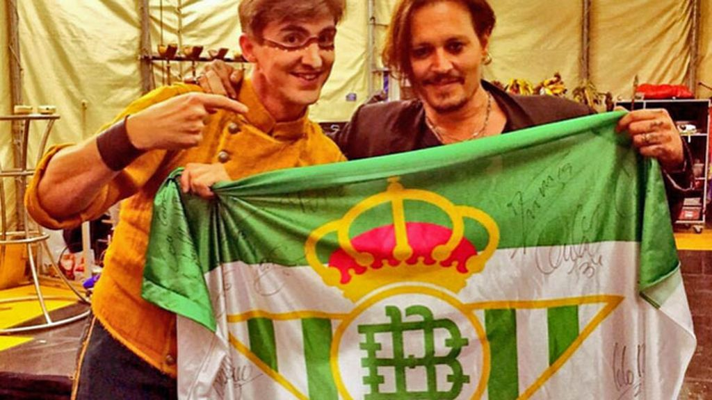 Johnny Depp, Betis, Pepe Mel