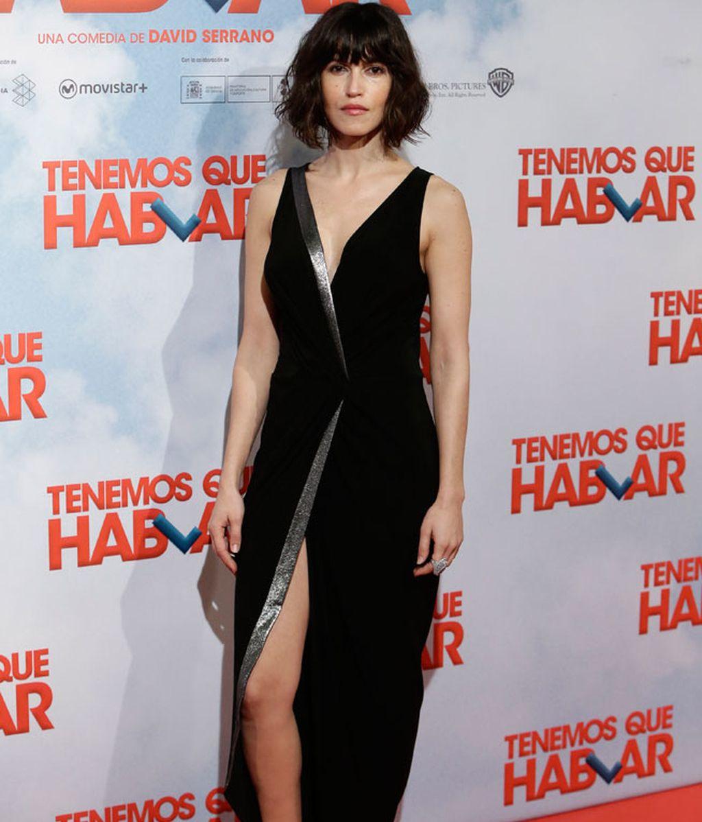 Nerea Barros eligió el 'look' más festivo