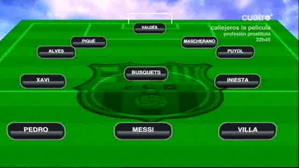 El once de Wembley