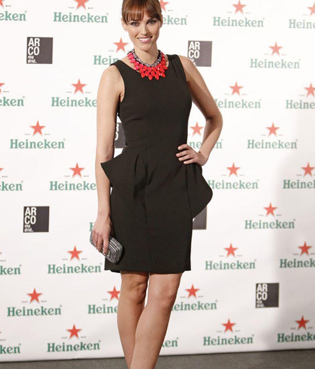 La modelo Helen Lindes