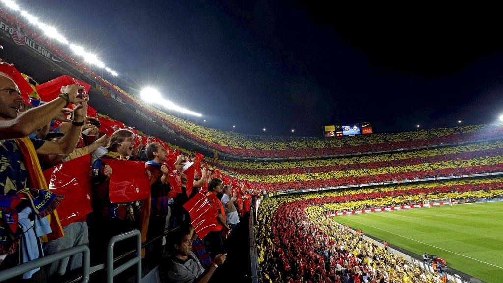 Clásico en el Camp Nou