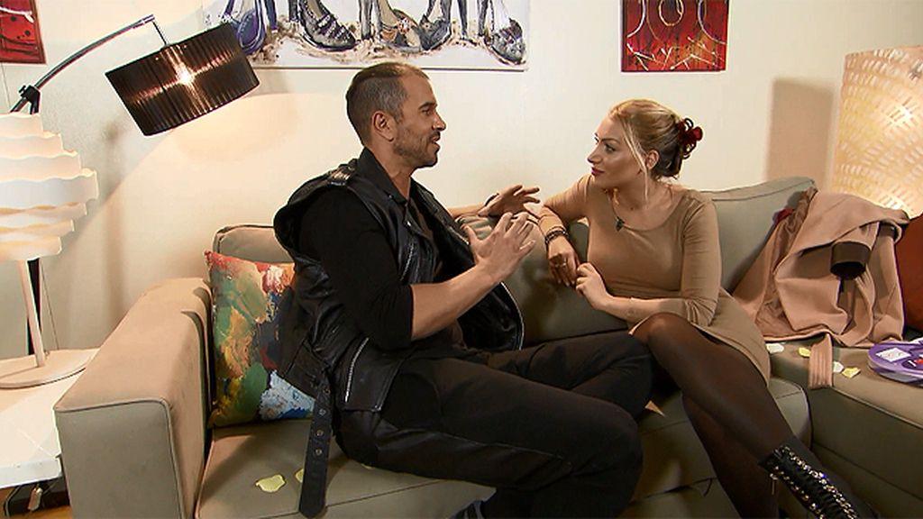 """Elisa, sobre Roberto: """"Me siento más Elisa con él"""""""