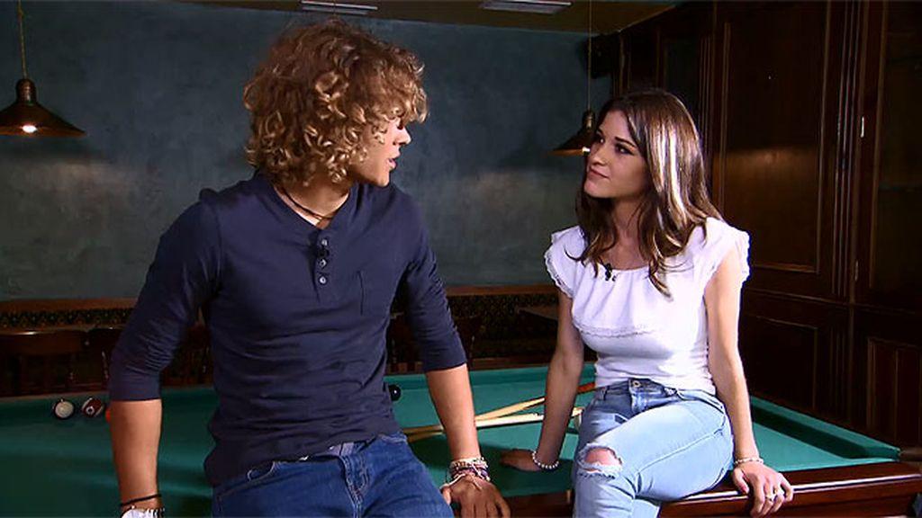 Sofía cree que no es el prototipo de chica de Víctor