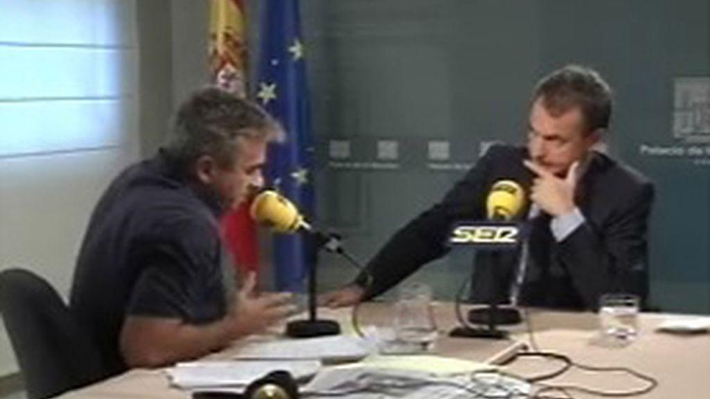 Zapatero en la Cadena Ser