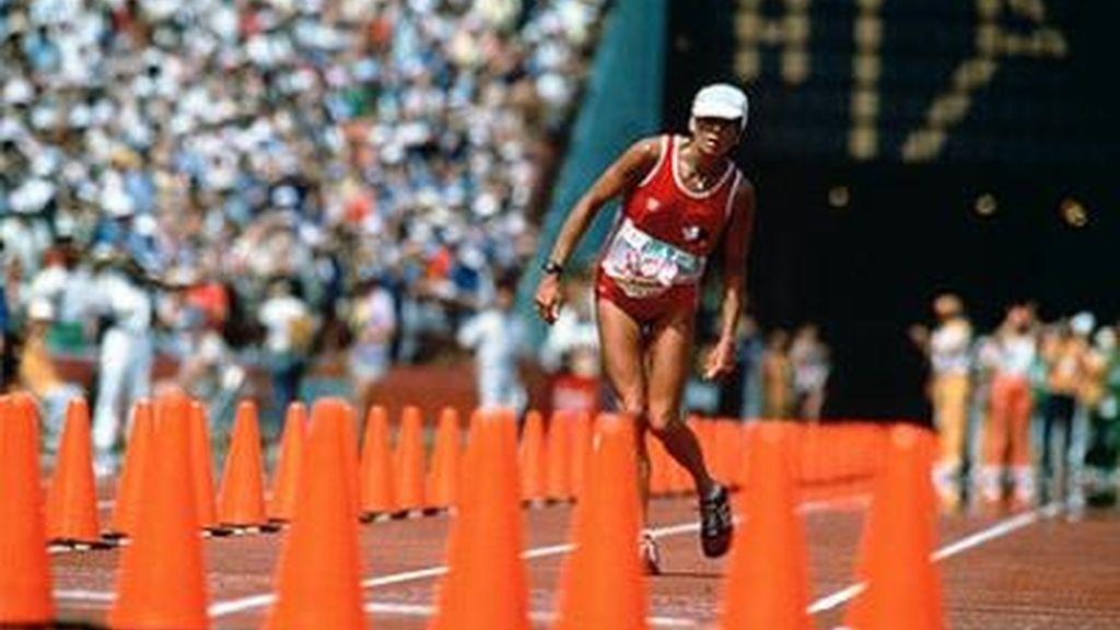 Gabriele Andersen-Schiess, Los Angeles 1984, maratón