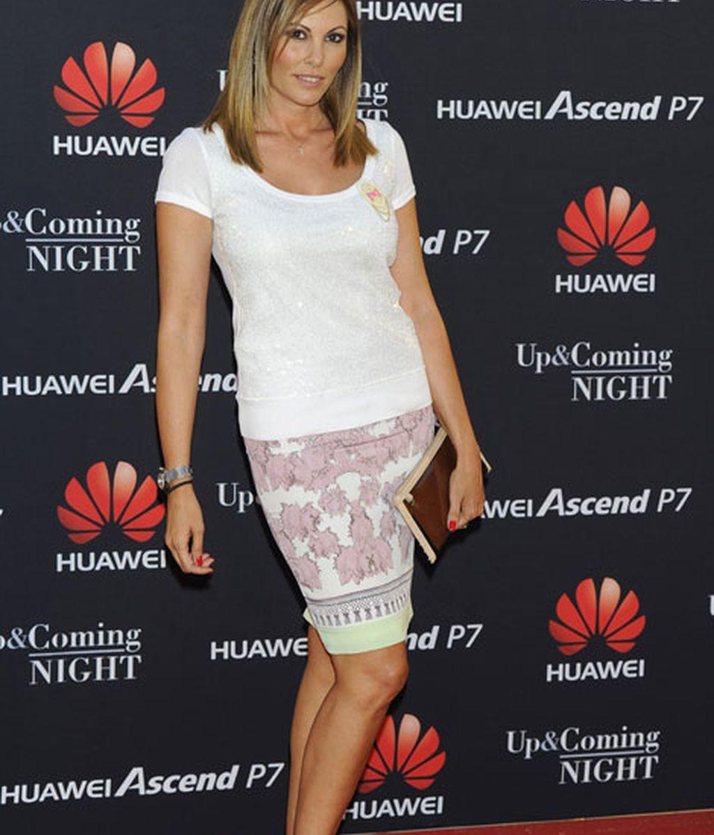 La ex miss España Raquel Rodríguez fue otra de las asistentes