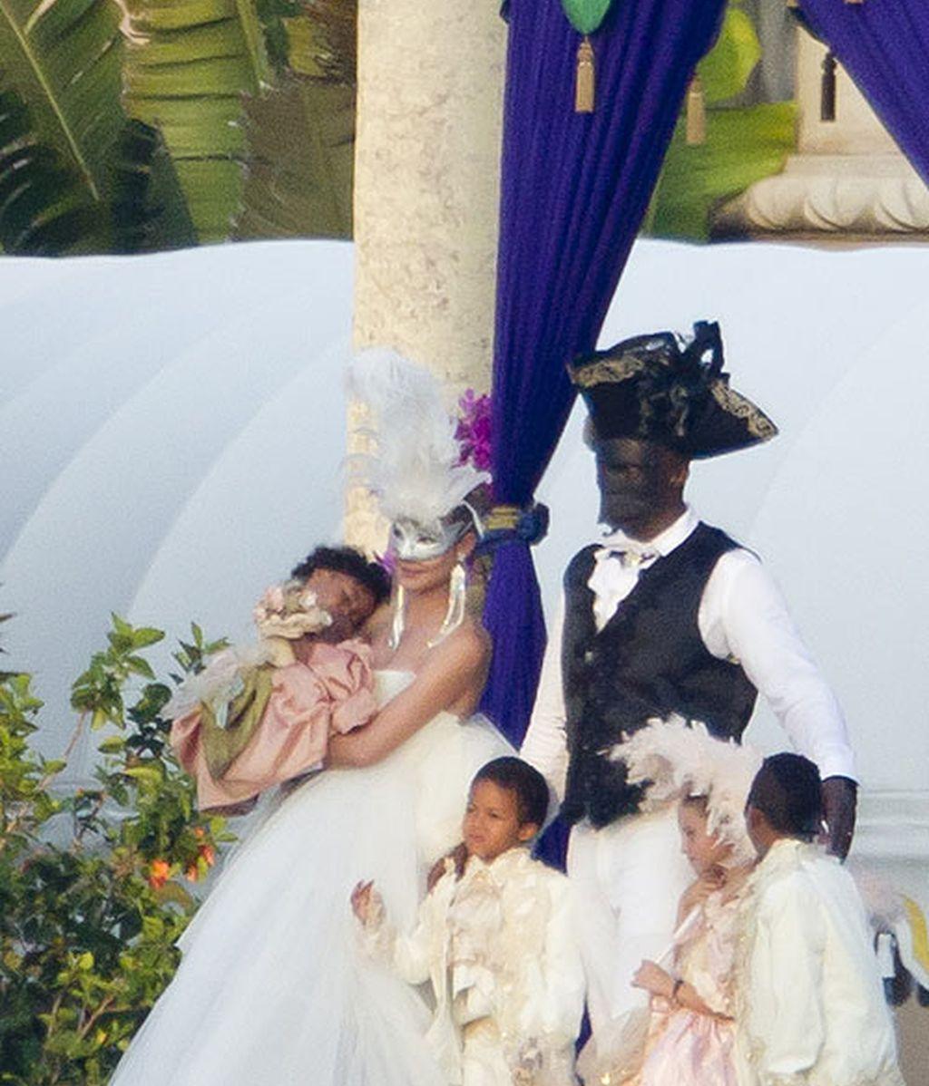 Los 20 disfraces más chulis del matrimonio de moda, Heidi Klum y Seal