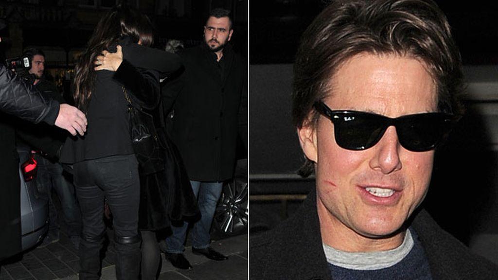 Penélope Cruz, Tom Cruise y Salma Hayek: tres amigos vip de 'cenita' en Londres