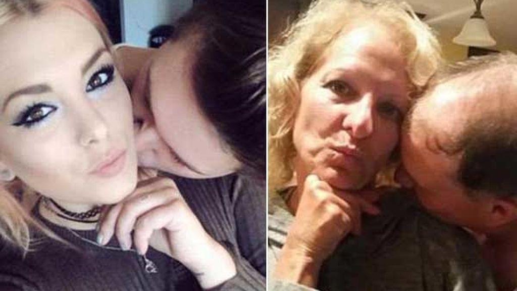 Los padres que se burlan de su hija subiendo la misma foto que ella con su novio