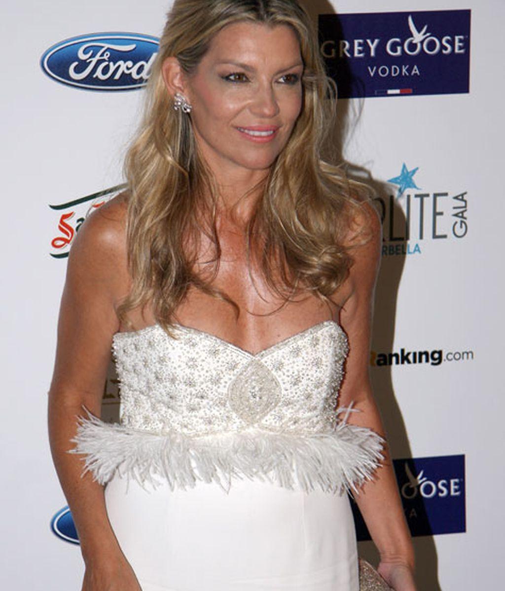 Patricia Rato se decantó por un vestido blanco