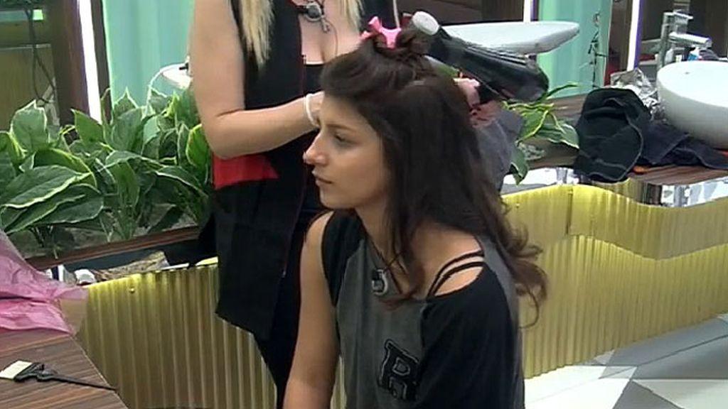Aguasantas y Belén pasan por la peluquería