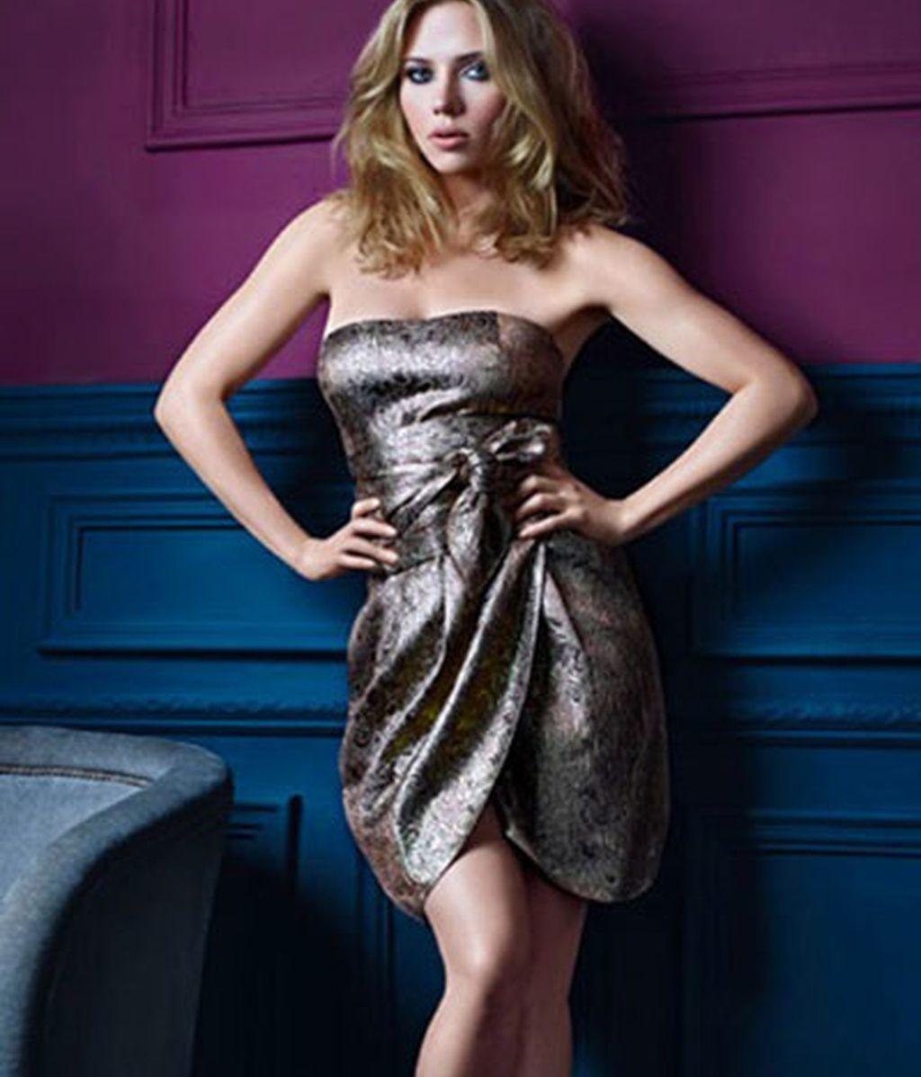 Mango optimiza a Scarlett Johansson