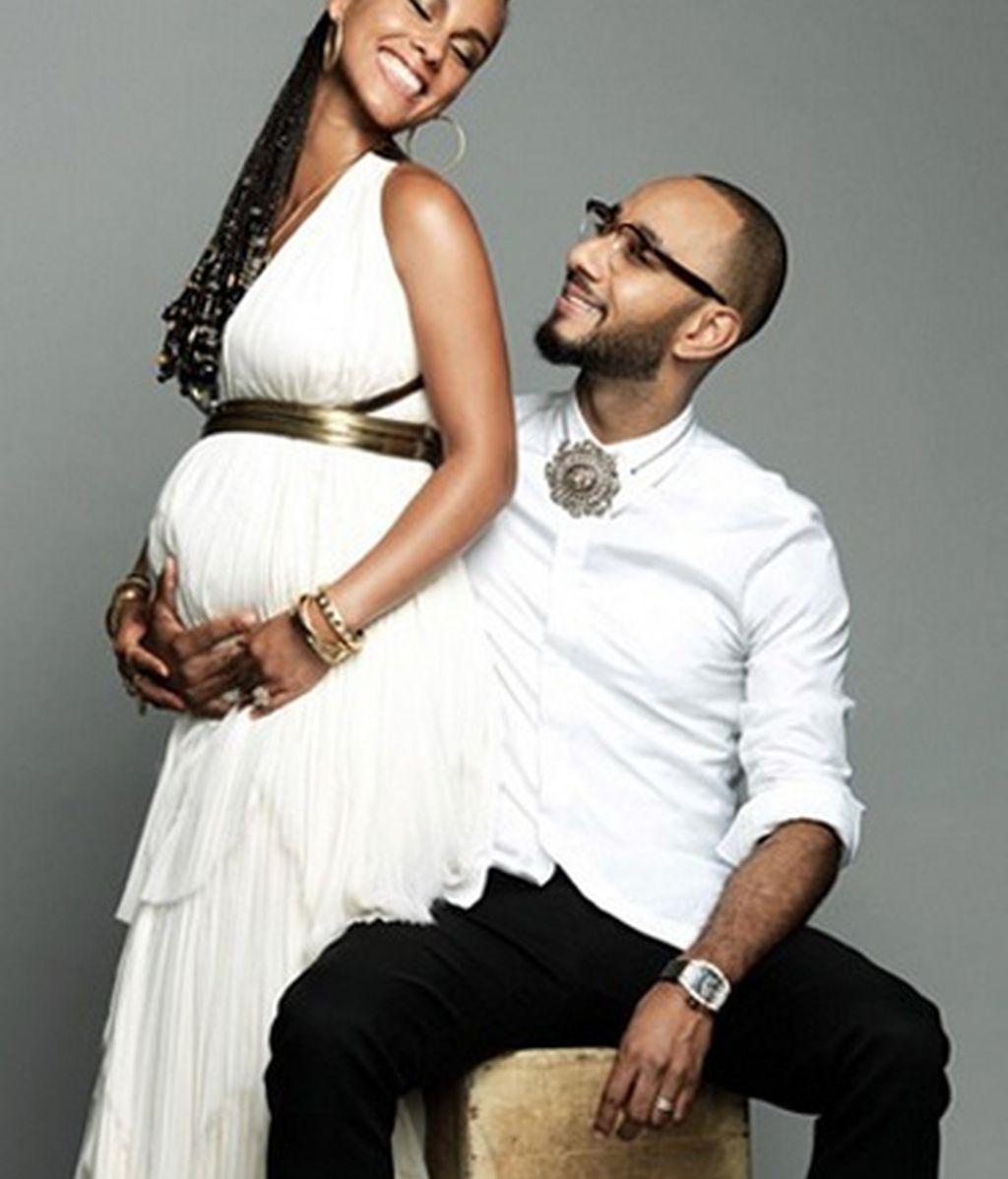 Alicia Keys y Swizz Beatz anuncian que esperan su segundo hijo