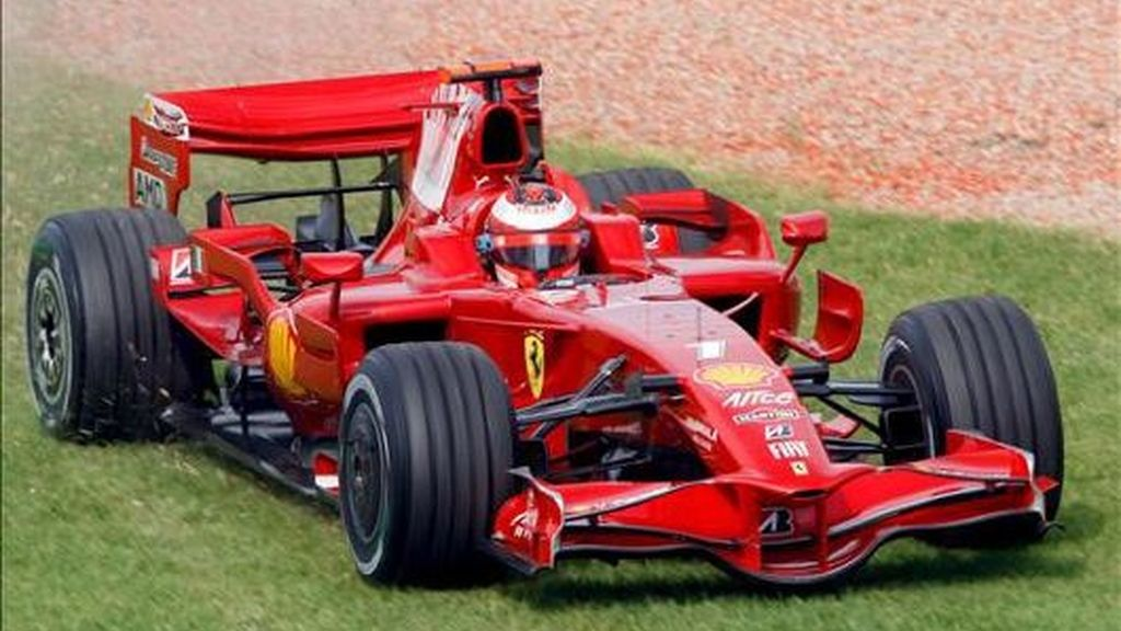 Raikkonen se quedó fuera en la Q1 por un problema en la bomba de la gasolina