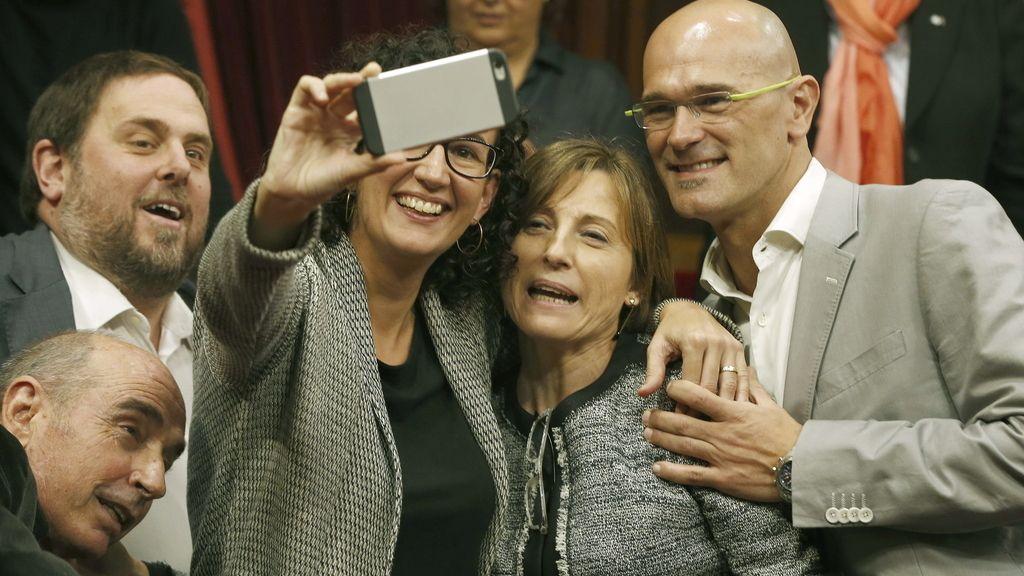 Carme Forcadell, elegida nueva presidenta del Parlament
