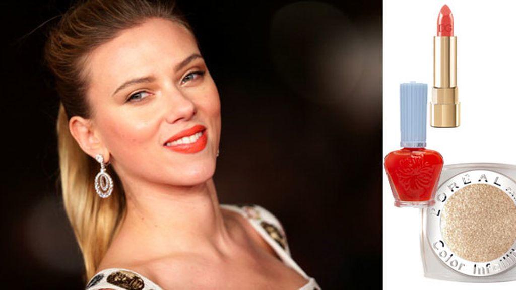 Los labios de Scarlett Johansson
