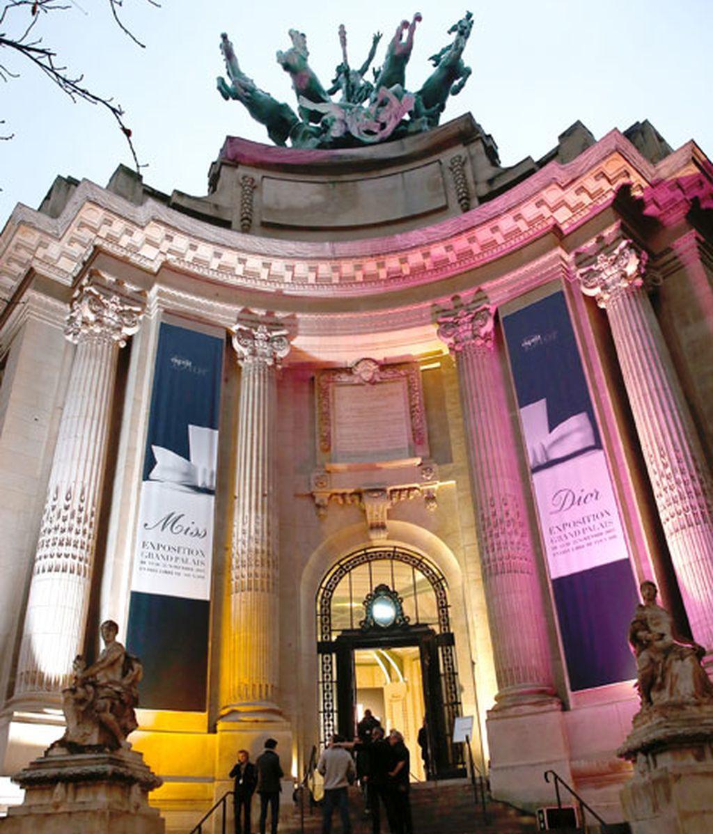 La entrada del Gran Palais de París