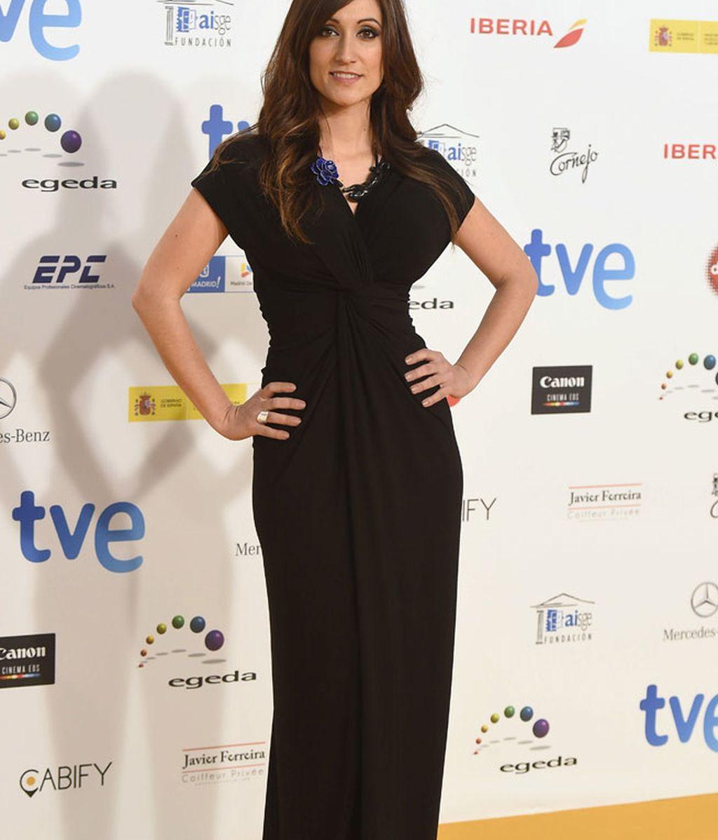 La presentadora de la gala, Ana Morgade