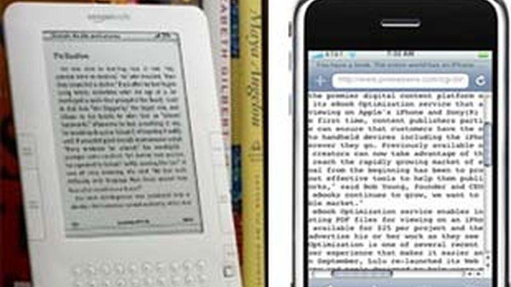Los propietarios del iPhone y el iPod Touch podrán leer en la pantalla los libros electrónicos.