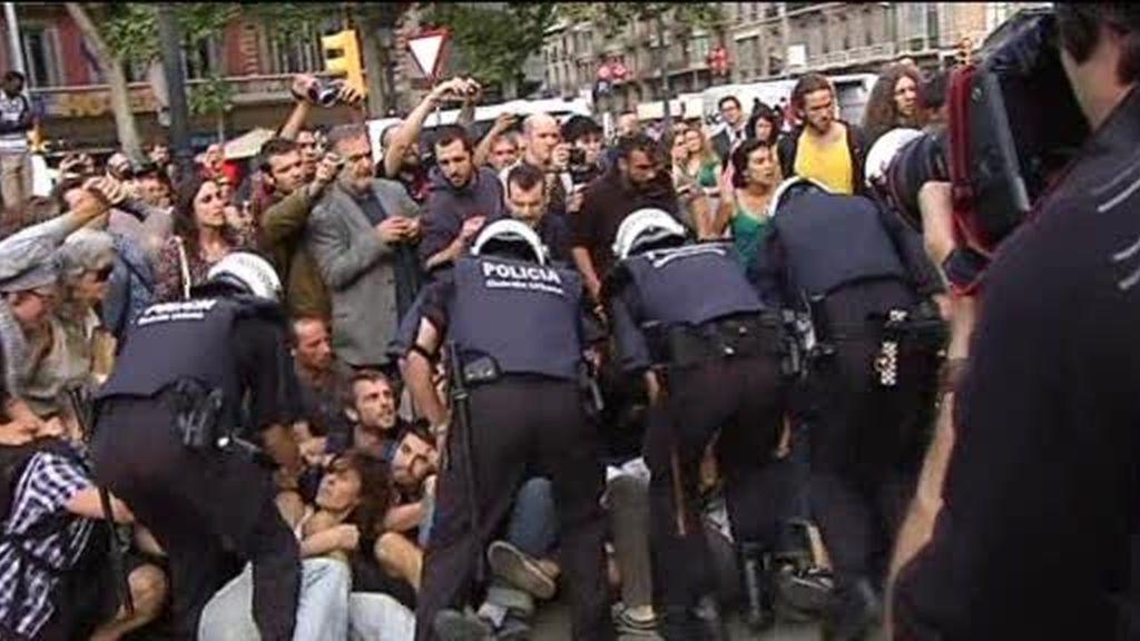 """Operación de """"limpieza""""`en Barcelona"""