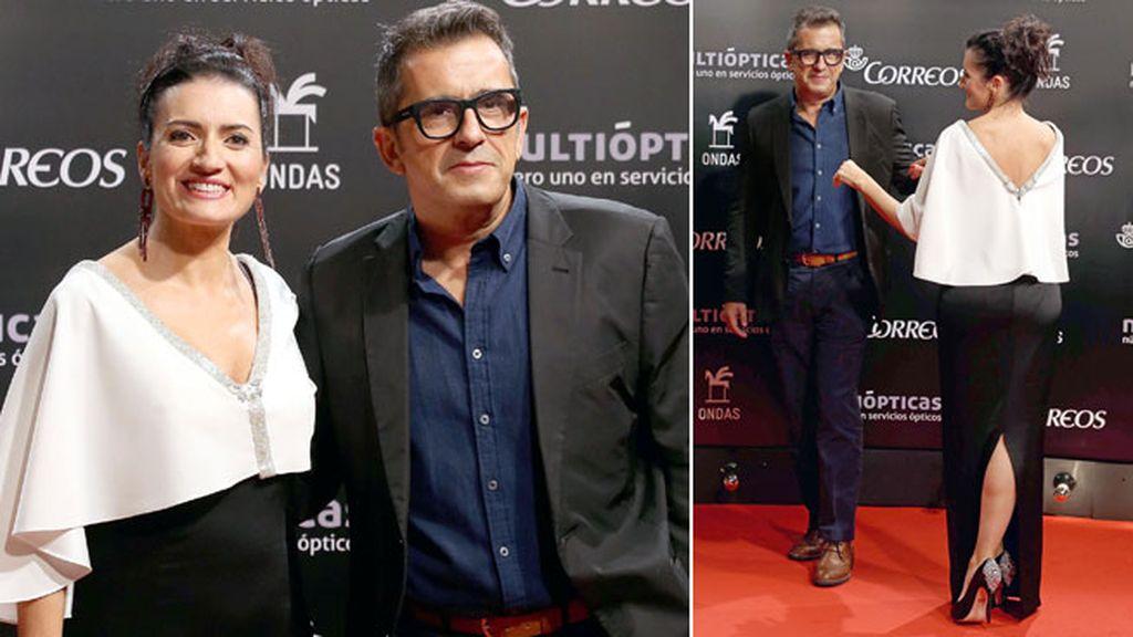 Andreu Buenafuente y su chica, la actriz Silvia Abril