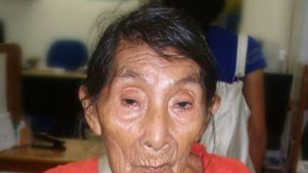 María Lucimar Pereira, la mujer más anciana del mundo