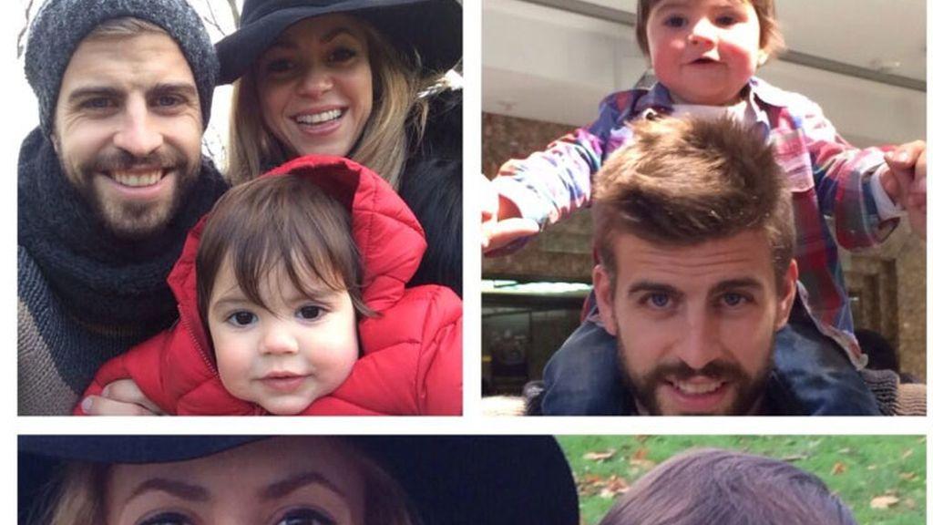 Shakira, foto de familia en Londres