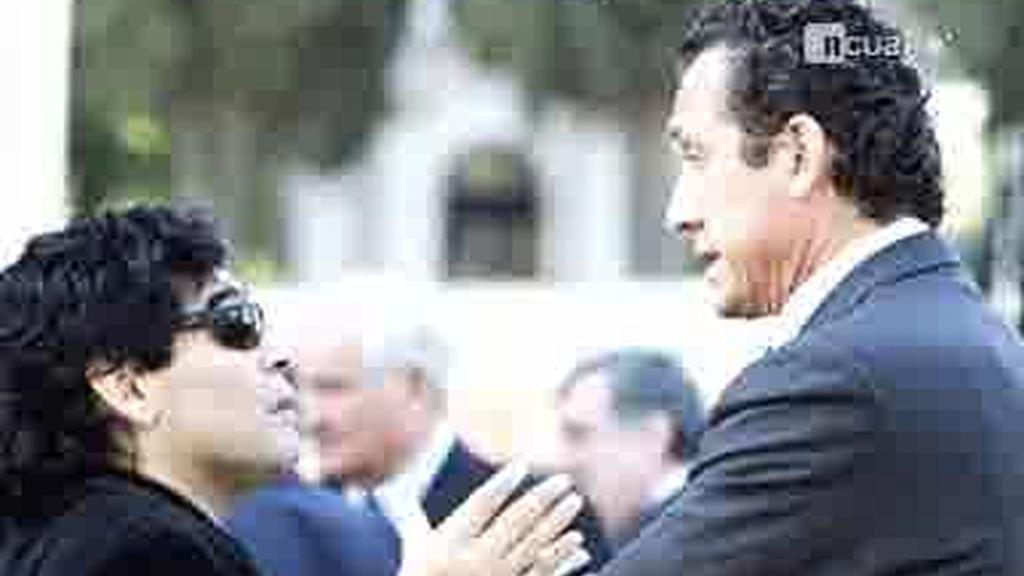 Maradona critica duramente a Jorge Valdano