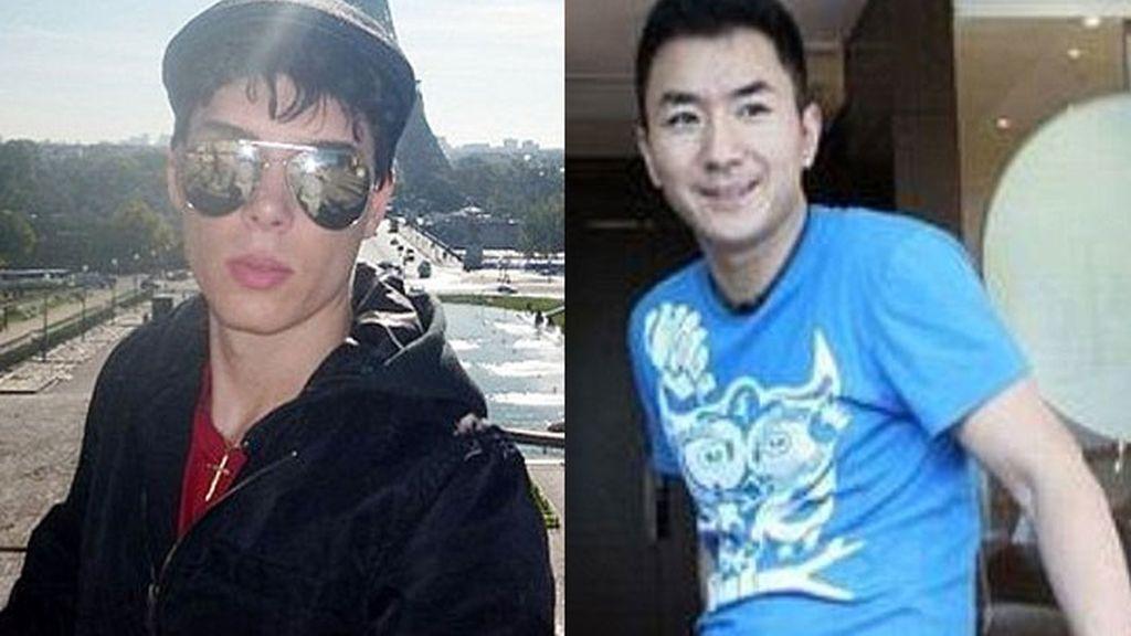 El asesino Luka Magnotta y su víctima Jun Lin Jun