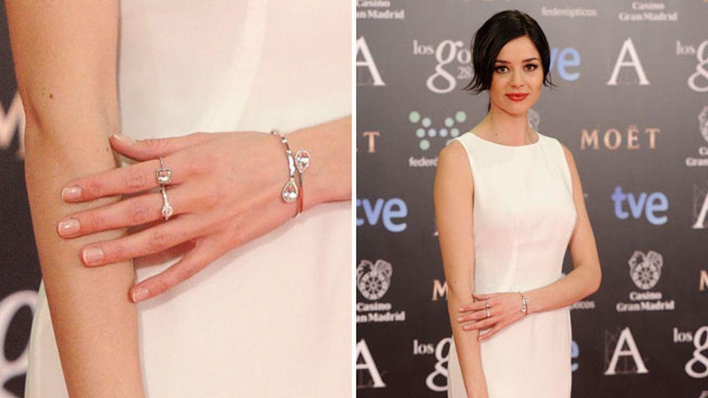 Las joyas que llevó Dafne Fernández eran de la firma Suárez