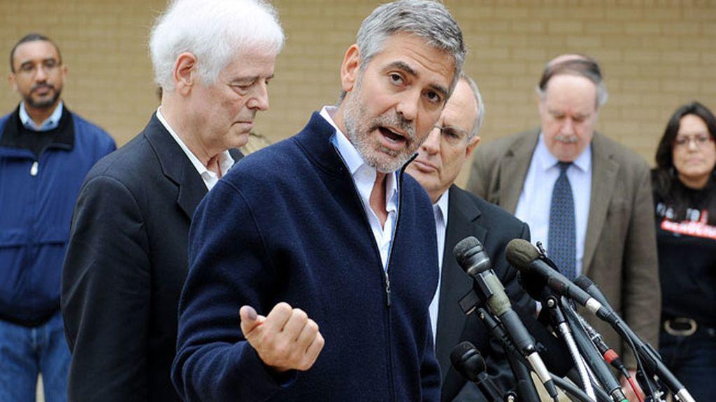 George Clooney, detenido