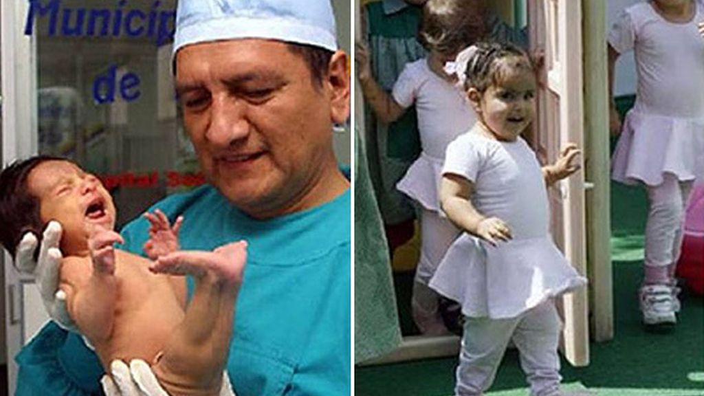 El milagro de la niña sirena de Perú
