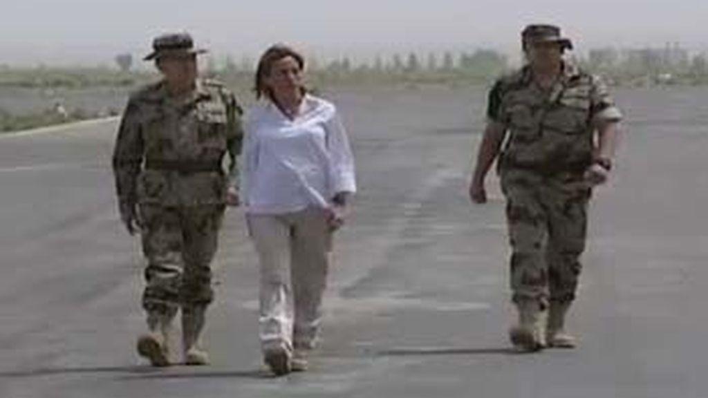 Chacón en Afganistán