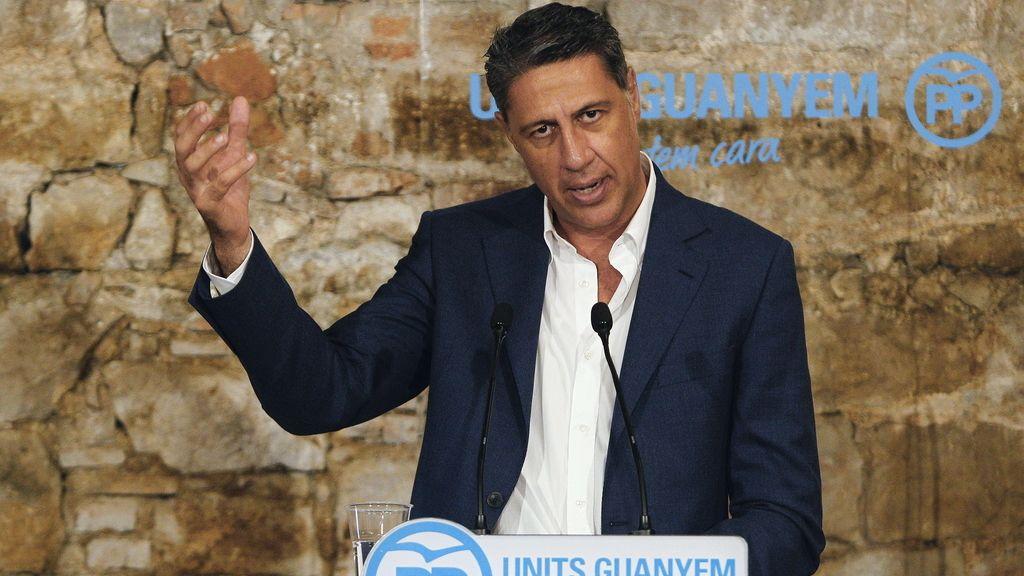 El candidato del PPC, Xavier García Albiol