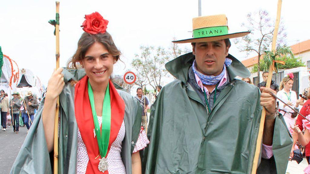 Fran y Lourdes, fieles a las romería