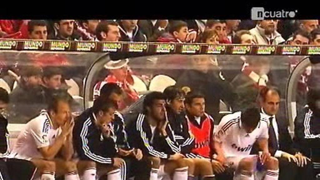 Un banquillo de lujo para el Real Madrid